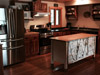 Kitchen  - grouse, bird and deer hunting, fishing snowmobiling resort accommodations phillips wisconsin