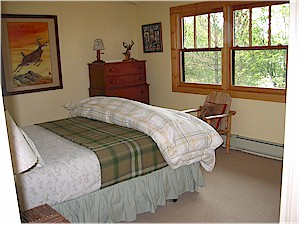 Bedroom picture at Ruffed Grouse Lodge in Phillips Wisconsin - northwoods vacation resort retreat