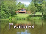 Ruffed Grouse Lodge Phillips WI - Features page listing our accommodation amenities for