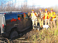 Bird hunters in Phillips Wisconsin - ruffed grouse and woodcock hunters accommodations in Phillips Wisconsin