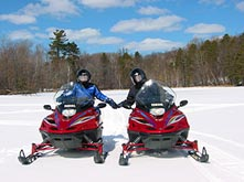 Snowmobiling accommodations in Phillips Wisconsin